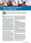 1 articles on active and passive mobile research