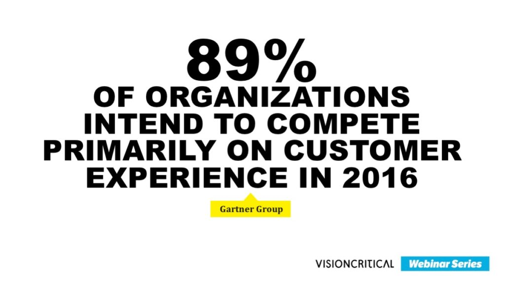 competing on customer experience - Gartner Research