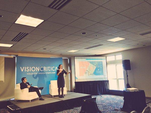 Alexandra Samuel - presentation at the 2015 Vision Critical Summit
