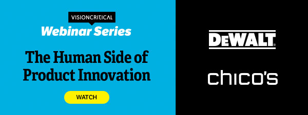 The human side of product innovation - webinar with DEWALT and Chico's