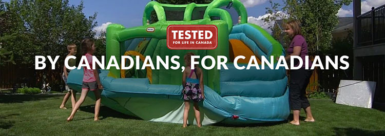 "To show that its products are best suited for target consumers, Canadian Tire launched the ""Tested for Life in Canada"" campaign."