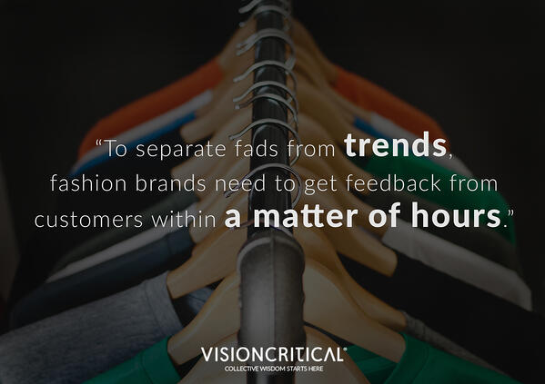 How to separate trends from fads in the fashion business