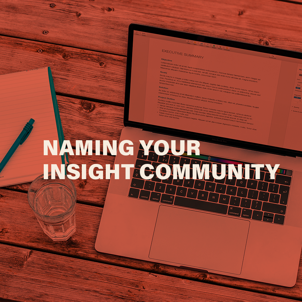 Naming Your Insight Community